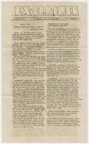 Primary view of object titled 'The Ex-Claimer, Volume 2, Number 3, June 15, 1944'.