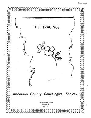 The Tracings, Volume 01, Number 02, Fall 1982