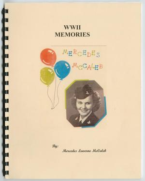 Primary view of object titled '[World War II Memories: Mercedes McCaleb]'.