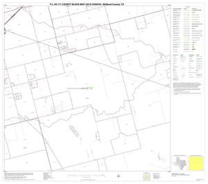 Primary view of object titled 'P.L. 94-171 County Block Map (2010 Census): Midland County, Block 7'.