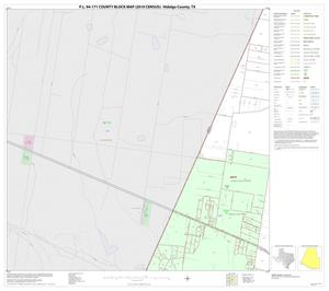 Primary view of object titled 'P.L. 94-171 County Block Map (2010 Census): Hidalgo County, Block 70'.