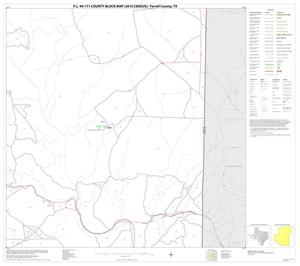 Primary view of object titled 'P.L. 94-171 County Block Map (2010 Census): Terrell County, Block 16'.