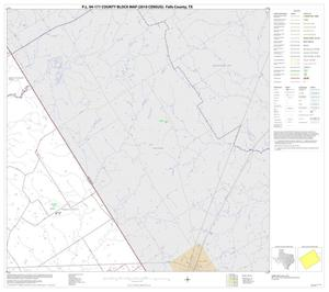 Primary view of object titled 'P.L. 94-171 County Block Map (2010 Census): Falls County, Block 7'.