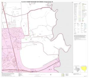 Primary view of object titled 'P.L. 94-171 County Block Map (2010 Census): Orange County, Block 12'.