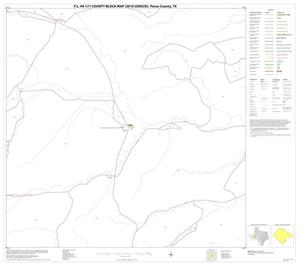 Primary view of object titled 'P.L. 94-171 County Block Map (2010 Census): Pecos County, Block 72'.