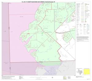 Primary view of object titled 'P.L. 94-171 County Block Map (2010 Census): Rockwall County, Block 7'.