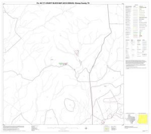 Primary view of object titled 'P.L. 94-171 County Block Map (2010 Census): Kinney County, Block 8'.