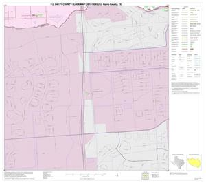 Primary view of object titled 'P.L. 94-171 County Block Map (2010 Census): Harris County, Block 276'.