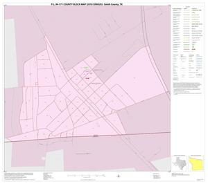 Primary view of object titled 'P.L. 94-171 County Block Map (2010 Census): Smith County, Inset I01'.