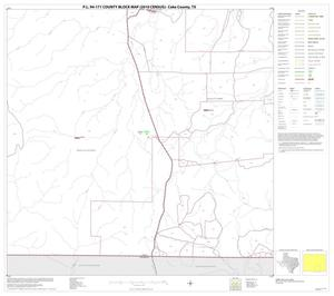 Primary view of object titled 'P.L. 94-171 County Block Map (2010 Census): Coke County, Block 11'.