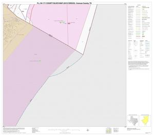 Primary view of object titled 'P.L. 94-171 County Block Map (2010 Census): Aransas County, Block 13'.