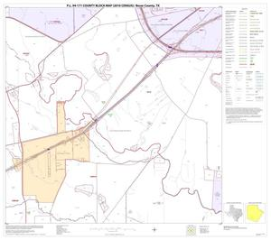 Primary view of object titled 'P.L. 94-171 County Block Map (2010 Census): Bexar County, Block 50'.