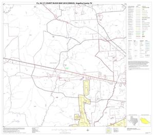Primary view of object titled 'P.L. 94-171 County Block Map (2010 Census): Angelina County, Block 6'.