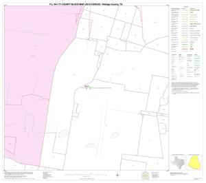 Primary view of object titled 'P.L. 94-171 County Block Map (2010 Census): Hidalgo County, Block 27'.