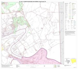 Primary view of object titled 'P.L. 94-171 County Block Map (2010 Census): Hood County, Block 8'.