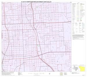 Primary view of object titled 'P.L. 94-171 County Block Map (2010 Census): Smith County, Inset B05'.