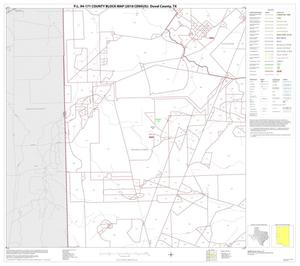 Primary view of object titled 'P.L. 94-171 County Block Map (2010 Census): Duval County, Block 9'.