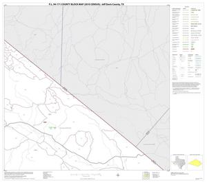 Primary view of object titled 'P.L. 94-171 County Block Map (2010 Census): Jeff Davis County, Block 14'.