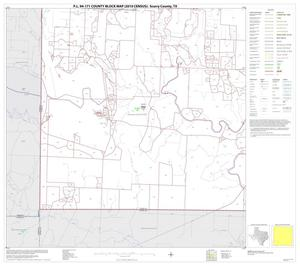 Primary view of object titled 'P.L. 94-171 County Block Map (2010 Census): Scurry County, Block 13'.