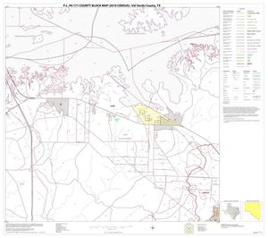 Primary view of object titled 'P.L. 94-171 County Block Map (2010 Census): Val Verde County, Block 76'.