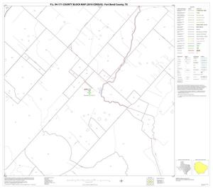 Primary view of object titled 'P.L. 94-171 County Block Map (2010 Census): Fort Bend County, Block 63'.