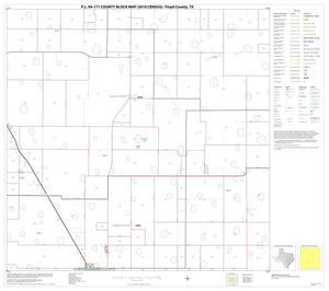 Primary view of object titled 'P.L. 94-171 County Block Map (2010 Census): Floyd County, Block 5'.