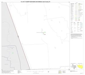 Primary view of object titled 'P.L. 94-171 County Block Map (2010 Census): Harris County, Block 103'.