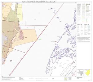 Primary view of object titled 'P.L. 94-171 County Block Map (2010 Census): Aransas County, Block 9'.