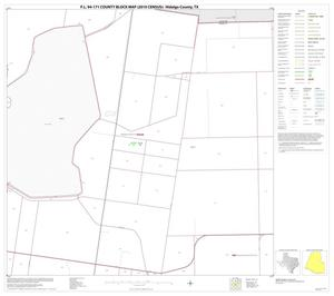 Primary view of object titled 'P.L. 94-171 County Block Map (2010 Census): Hidalgo County, Block 56'.