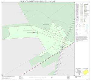Primary view of object titled 'P.L. 94-171 County Block Map (2010 Census): McLennan County, Inset R01'.