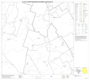Primary view of object titled 'P.L. 94-171 County Block Map (2010 Census): Erath County, Block 18'.