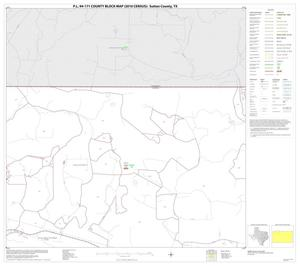 Primary view of object titled 'P.L. 94-171 County Block Map (2010 Census): Sutton County, Block 2'.