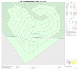 Primary view of object titled 'P.L. 94-171 County Block Map (2010 Census): Leon County, Inset G01'.
