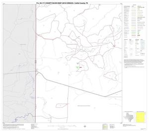 Primary view of object titled 'P.L. 94-171 County Block Map (2010 Census): Cottle County, Block 9'.