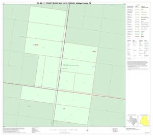 Primary view of object titled 'P.L. 94-171 County Block Map (2010 Census): Hidalgo County, Inset H01'.