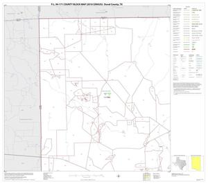 Primary view of object titled 'P.L. 94-171 County Block Map (2010 Census): Duval County, Block 1'.