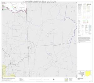 Primary view of object titled 'P.L. 94-171 County Block Map (2010 Census): Upshur County, Block 12'.