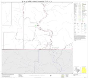 Primary view of object titled 'P.L. 94-171 County Block Map (2010 Census): Real County, Block 35'.