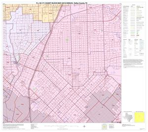 Primary view of object titled 'P.L. 94-171 County Block Map (2010 Census): Dallas County, Block 32'.