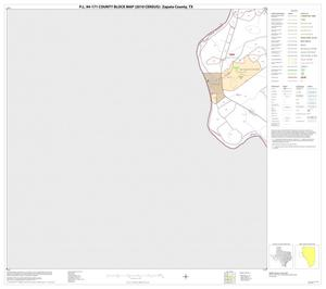 Primary view of object titled 'P.L. 94-171 County Block Map (2010 Census): Zapata County, Block 9'.