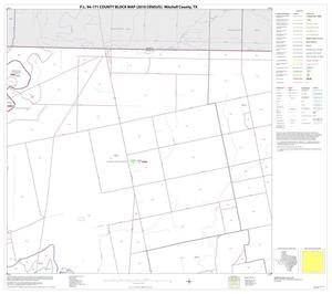 Primary view of object titled 'P.L. 94-171 County Block Map (2010 Census): Mitchell County, Block 3'.