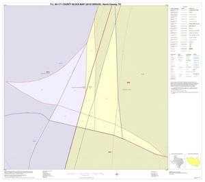 Primary view of object titled 'P.L. 94-171 County Block Map (2010 Census): Harris County, Inset A01'.