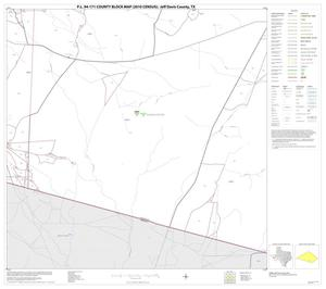 Primary view of object titled 'P.L. 94-171 County Block Map (2010 Census): Jeff Davis County, Block 27'.