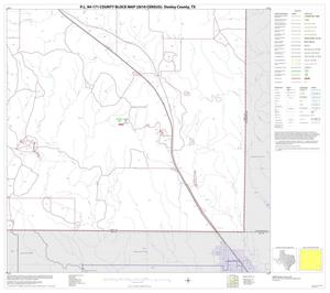 Primary view of object titled 'P.L. 94-171 County Block Map (2010 Census): Donley County, Block 16'.