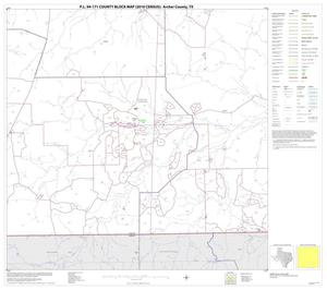 Primary view of object titled 'P.L. 94-171 County Block Map (2010 Census): Archer County, Block 15'.