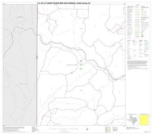 Primary view of object titled 'P.L. 94-171 County Block Map (2010 Census): Cottle County, Block 5'.