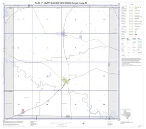 Primary view of object titled 'P.L. 94-171 County Block Map (2010 Census): Runnels County, Index'.