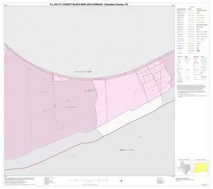Primary view of object titled 'P.L. 94-171 County Block Map (2010 Census): Chambers County, Inset F01'.