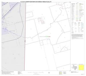 Primary view of object titled 'P.L. 94-171 County Block Map (2010 Census): Midland County, Block 9'.