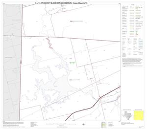 Primary view of object titled 'P.L. 94-171 County Block Map (2010 Census): Howard County, Block 9'.